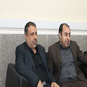 بازدید شهردار اهواز جناب آقای مهندس موسوی از دانشگاه