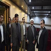بازدید اعضای شورای شهر اهواز از دانشگاه