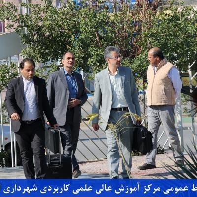بازدید اعضای هیات نظارت موسسه شهری و روستایی وزارت کشور