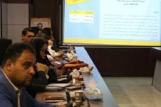 کارگاه نحوه آشنایی با تکمیل کاربرگ های هیات نظارت و ارزیابی برگزار شد