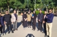 بازدید دانشجویان مرکز علمی کاربردی شهرداری اهواز از روند کار فضای سبز شهرداری منطقه ۷