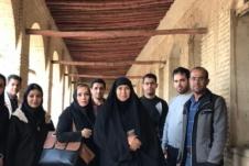بازدید علمی دانشجویان رشته معماری از بناهای تاریخی شهر اهواز