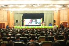 آیین گرامیداشت روز دانشجو در مرکز آموزش علمی کاربردی شهرداری اهواز برگزار شد
