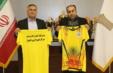 مراسم رونمایی از پیراهن تیم والیبال مرکز علمی کاربردی شهرداری اهواز برگزار شد